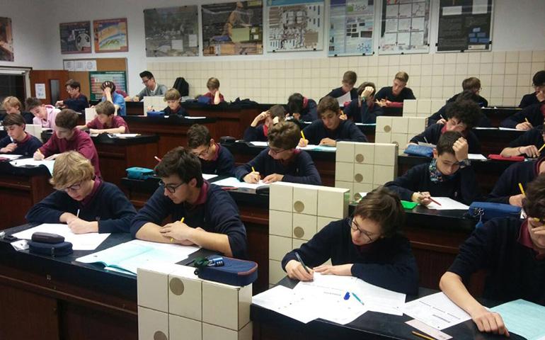 Alguns alumnes de Bell-lloc participen a la Cangur d'enguany