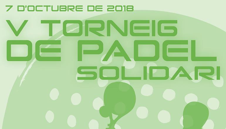 V Torneig de Pàdel Solidari