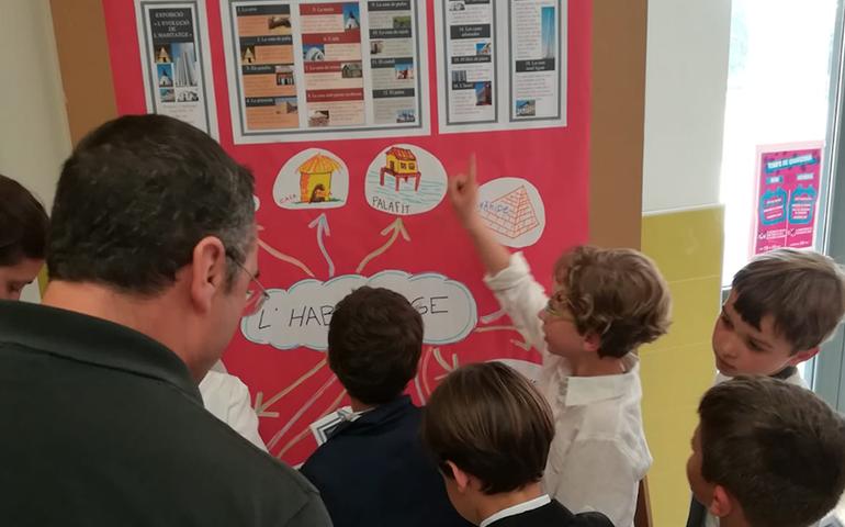Compartim l'aprenentatge amb els pares de 2n de Primària