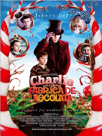 aprendre charlie fabrica xocolata