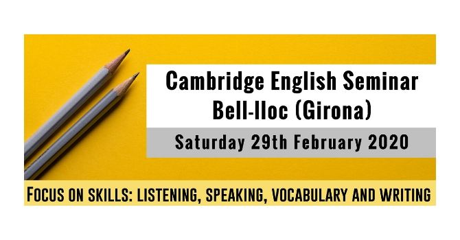 Cambridge English Seminar