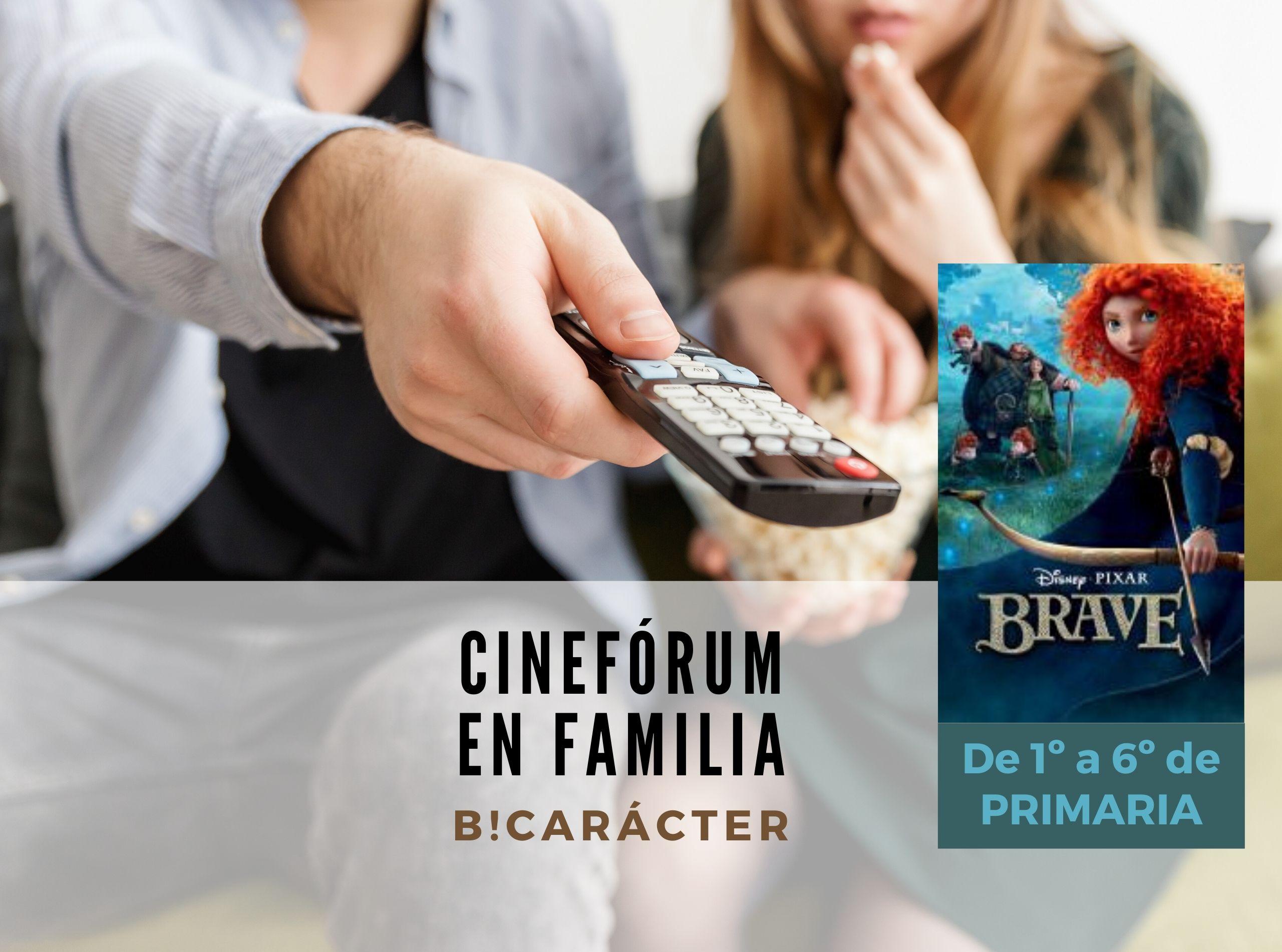 Cinefórum en familia para Primaria: Brave (Indomable)